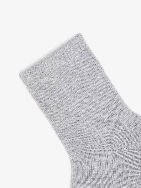Bilde av NmfWaksi wool terry sock - Grey Melange