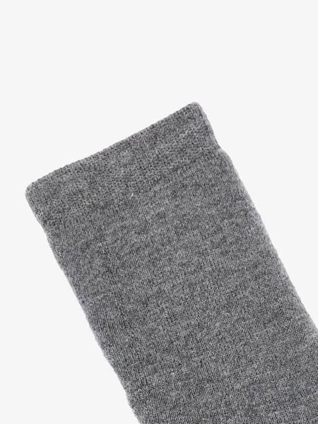 Bilde av NmmWaksi wool terry sock - Dark Grey Melange