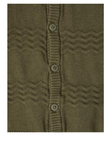Bilde av NbmDeset ls knit cardigan - Ivy Green