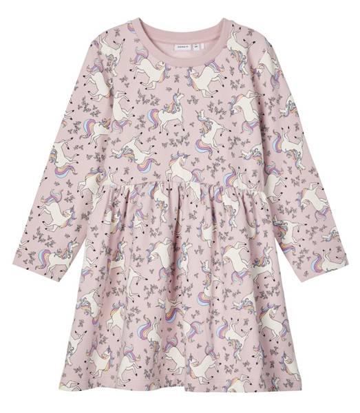 Bilde av NmfTillys ls swe dress - Violet Ice