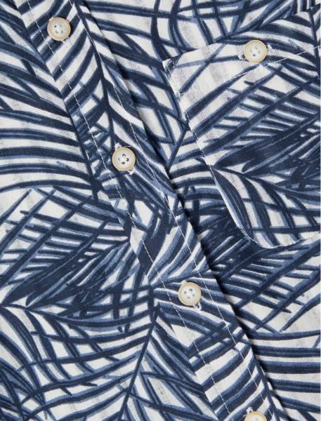 Bilde av NkmFerie ss shirt - Dusty Blue