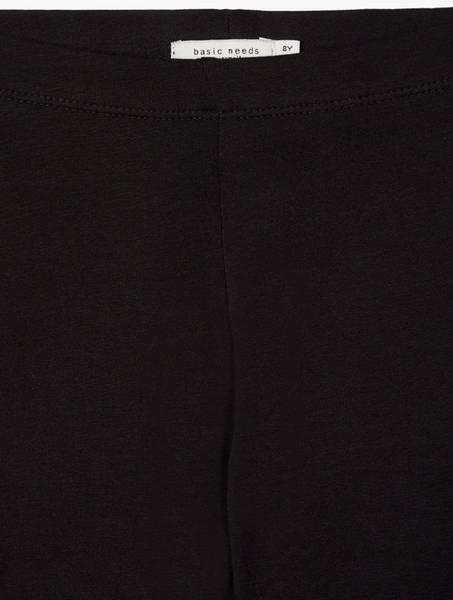 Bilde av NkfDavina solid swe legging - Black