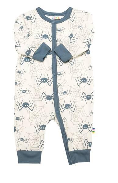 Bilde av Joha Spider bambus heldress pysj - blå