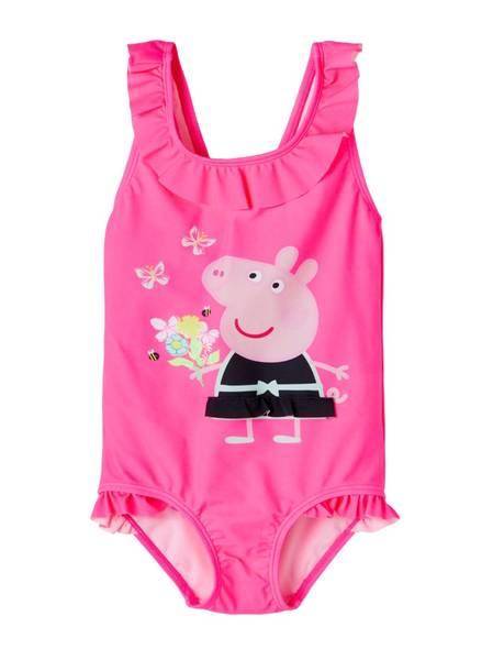 Bilde av NmfPeppaPig Mossa swimsuit - Knockout Pink