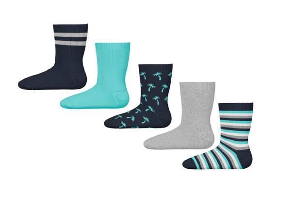Bilde av NmmVagn 5pk sock - Dark Sapphire