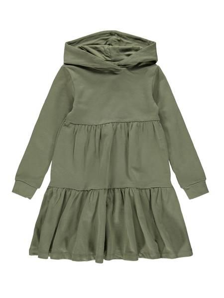 Bilde av NkfDanita ls sweat Dress - Deep Lichen Green