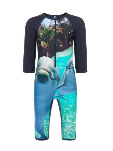 Bilde av NmmZalta UV swimsuit - Dark sapphire