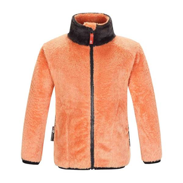 Bilde av Småvotna fleece jakke.- Melon