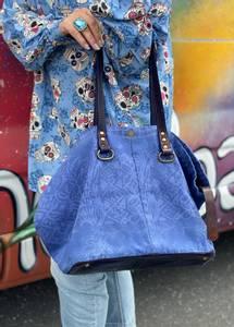 Bilde av Canvas Floral Bag