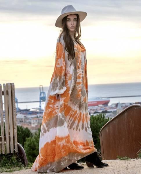 Clair Batik Dress