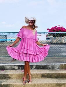 Bilde av Bunny Burnout Dress Exclusive