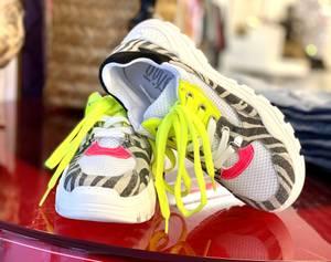 Bilde av Zebra Neon Sneakers