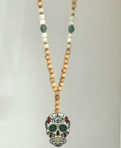 Bilde av Cinco Skull Necklace