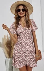Bilde av Blossom Wrap Dress