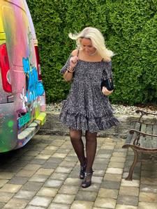 Bilde av Black Bunny Dress