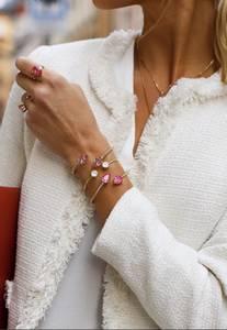 Bilde av Mini Drop Bracelet Pink