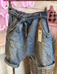 Bilde av Baggy Belt Shorts