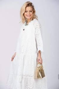 Bilde av White Blondie Dress