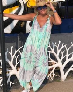 Bilde av Bali Jumpsuit Tie Dye