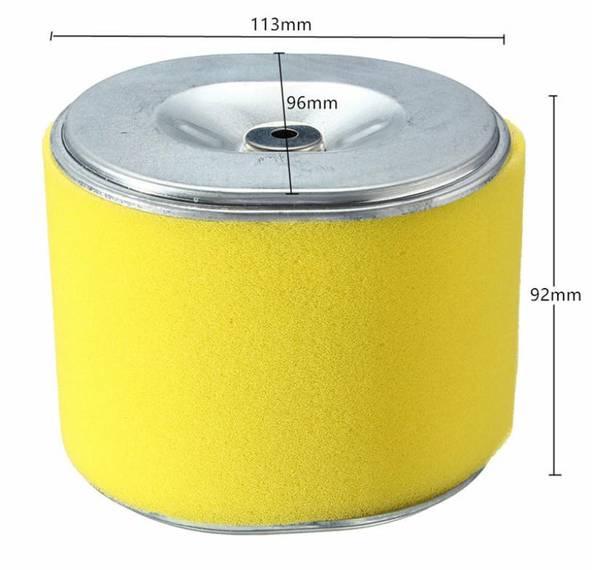 Luftfilter for 11-15HK bensinmotor