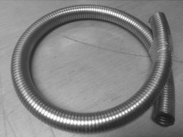 Fleksirør for eksos - Ø 2,5cm lengde 1 meter