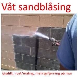Bilde av Sandblåser - våtsandblåsing