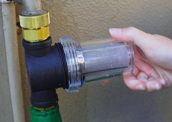 Vannfilter - Solid sediment filter