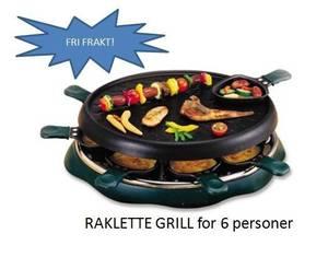 Bilde av Raklette grill for 6 personer