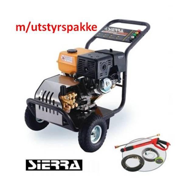 Utsolgt Proff høytrykksvasker - 248bar - 1240ltr/t m/utstyrspakk