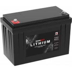Bilde av SKANBATT Bluetooth Lithium Batteri 12V 100AH 150A