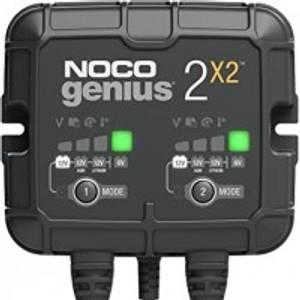 Bilde av NOCO Elektronisk Batterilader 6/12V 2x2A