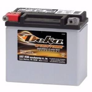 Bilde av DEKA MC Batteri 12V 12AH 180CCA ETX12