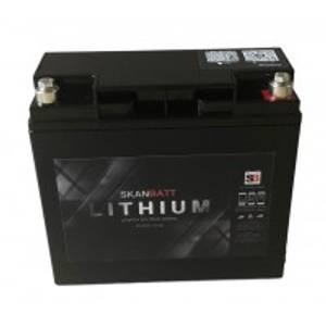 Bilde av SKANBATT Bluetooth Lithium Batteri 12V 20AH 30A