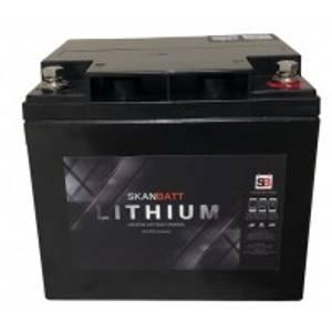 Bilde av SKANBATT Bluetooth Lithium Batteri 12V 50AH 50A