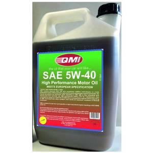 Bilde av Qmi. 5W40 olje, helsyntetisk 5Ltr.