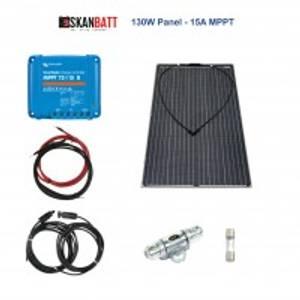 Bilde av Solcellepakke - BÅT - 130W - Flexi