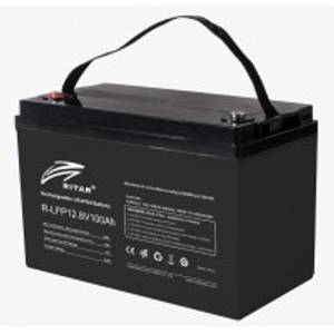 Bilde av RITAR Lithium Batteri 12V 100Ah LiFePO4 BMS 100A