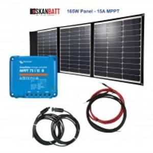 Bilde av Solcellepakke - BÅT - 165W Sammenleggbart
