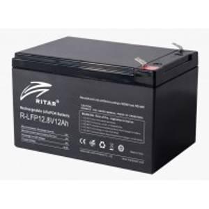 Bilde av RITAR Lithium Batteri 12V 12Ah LiFePO4 BMS 12A