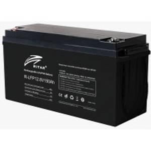 Bilde av RITAR Lithium Batteri 12V 150Ah LiFePO4 BMS 100A