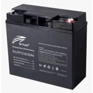 Bilde av RITAR Lithium Batteri 12V 20Ah LiFePO4 BMS 20A