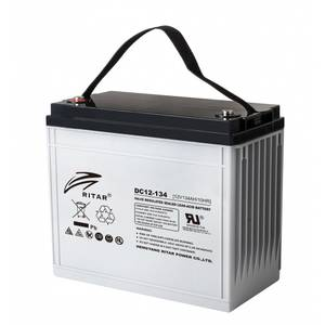 Bilde av RITAR AGM Deep Cycle Batteri 12V 134AH +venstre