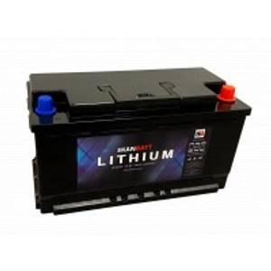 Bilde av SKANBATT Bluetooth Lithium Batteri 12V 98AH 100A