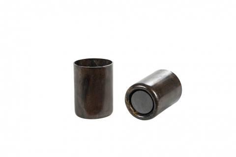 Bilde av Lysholder med magnet brun
