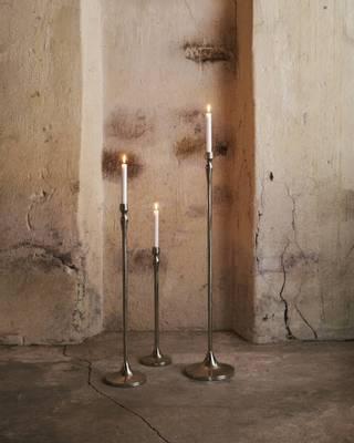 Bilde av Ludano sort lysestake