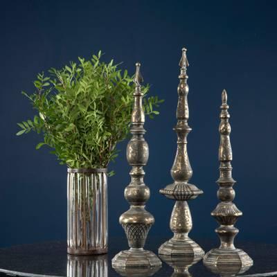 Bilde av Sierra vase glass/rust 2 str