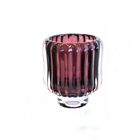 Bilde av Glass lysestake berry