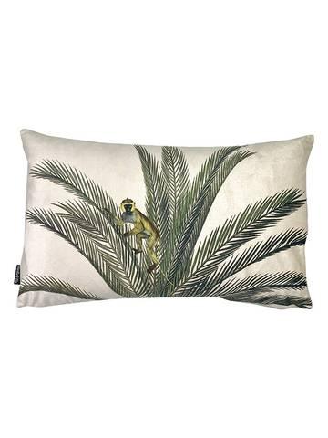 Bilde av Monkey palm velour pynteputetrekk