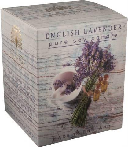 Bilde av English garden duftlys lavendel