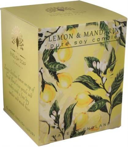 Bilde av English garden duftlys sitron & mandarin